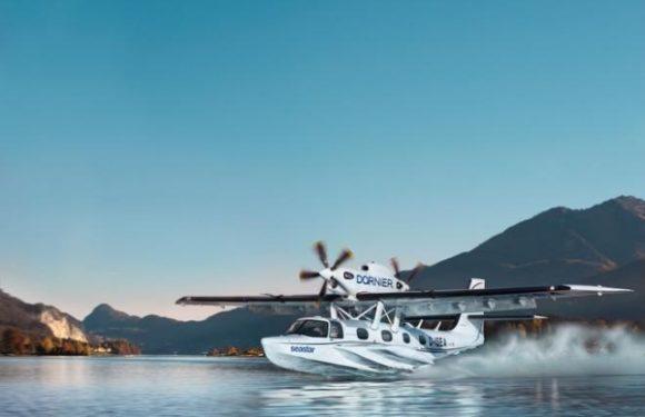 В Германии выкатили обновленный самолет-амфибию Dornier Seastar