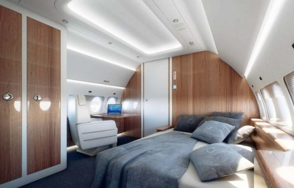 Sukhoi Business Jet takes shape