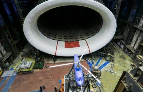 Несущий винт для VRT500 проверили в широком диапазоне полетных режимов