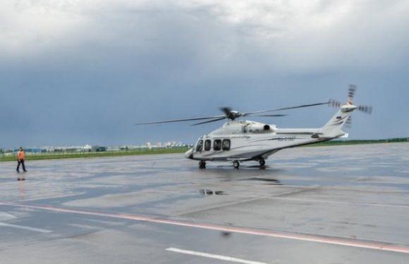Началась эксплуатация вертолетной площадки в Жуковском