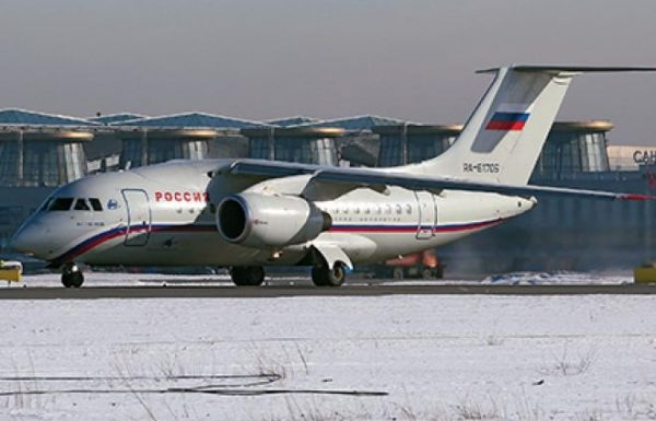 Antonov jet enters foreign markets
